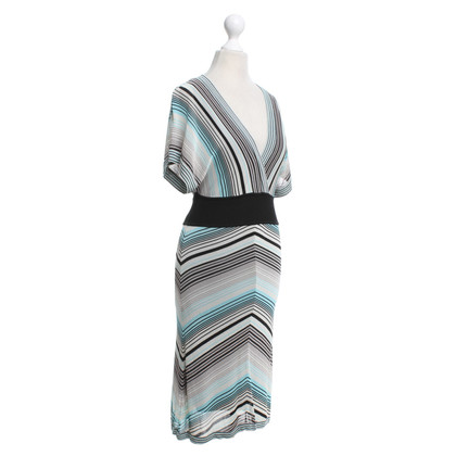 Karen Millen Dress with stripe pattern
