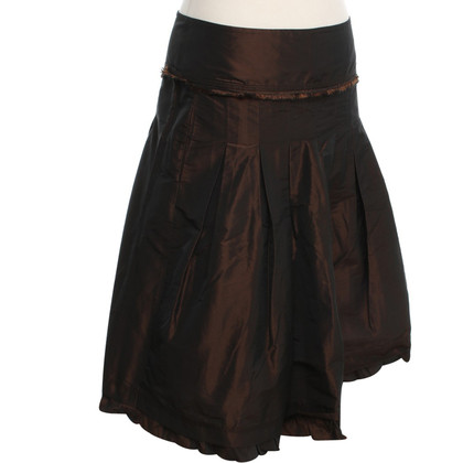 Max Mara Pleated skirt in brown
