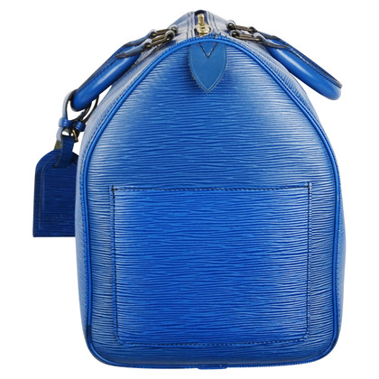 "Louis Vuitton ""Keepall 45 EPI ' in blue"