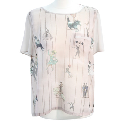 Ted Baker Transparent top with pattern