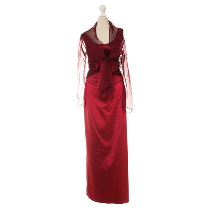 Talbot Runhof Evening dress in Bordeaux