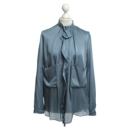 Schumacher Silk blouse in blue