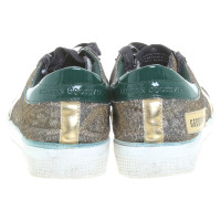 Golden Goose Gold-colored sneakers