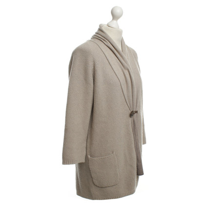 Fabiana Filippi Strickjacke in Beige
