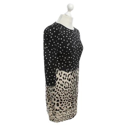Dolce & Gabbana Abito in seta con motivo