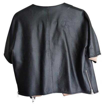 Marc Cain giacca di pelle