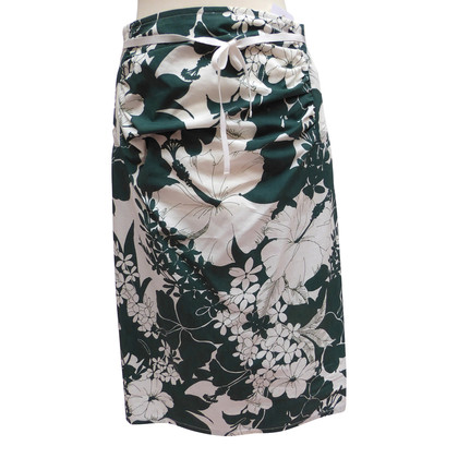 Miu Miu Summer skirt with floral print