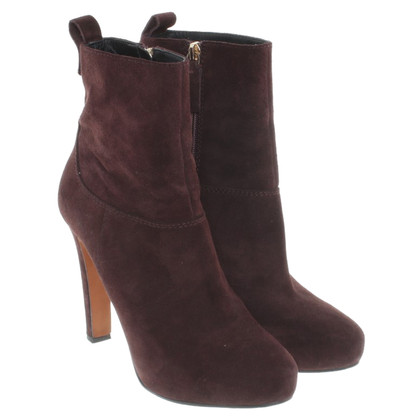 Hugo Boss Stiefeletten in Bordeaux