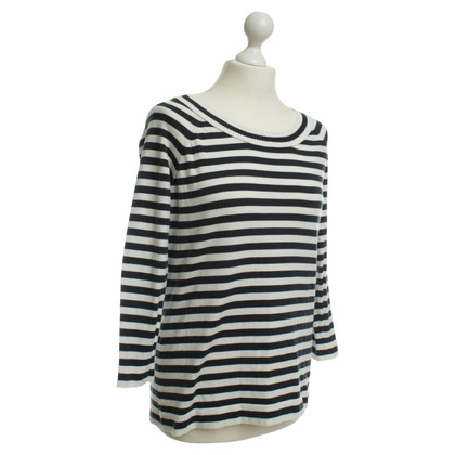 Akris top with stripe pattern