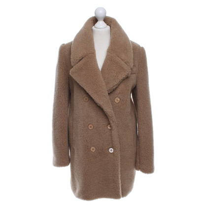 Carven Coat in beige