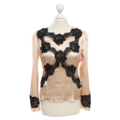 Dolce & Gabbana Top blouse in beige