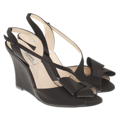 L.K. Bennett Wedges in black