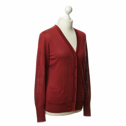 Loro Piana Strickjacke in Rot