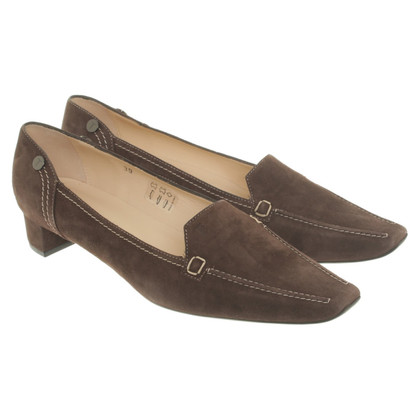 Tod's Loafer mit Blockabsatz