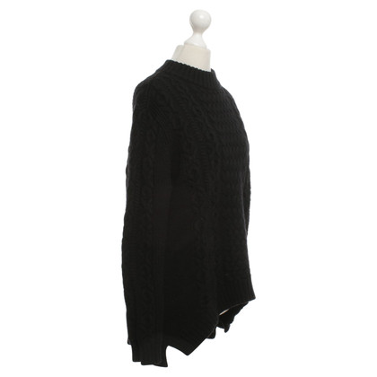Cos Wool sweater in black