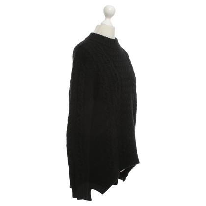 Cos maglione di lana in nero