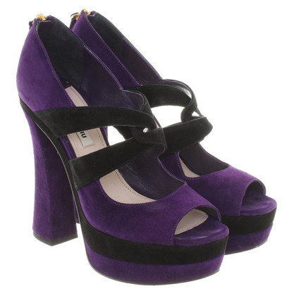 Miu Miu High Heels made of suede
