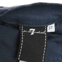 7 For All Mankind Rivestito in blue jeans