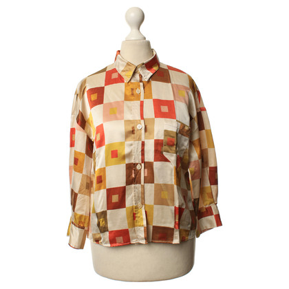 Marni Silk blouse with patterns