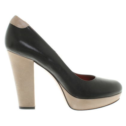 Paco Gil pumps in zwart / Beige