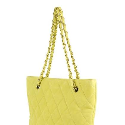 Chanel Tote bag yellow