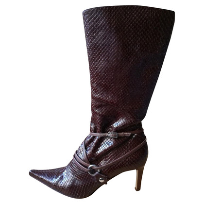 Sergio Rossi Boots in python