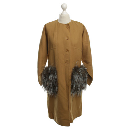 Fendi Beige wool coat