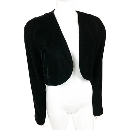 Lanvin Velvet bolero jacket