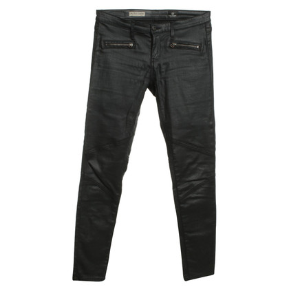 Adriano Goldschmied Coated jeans in zwart