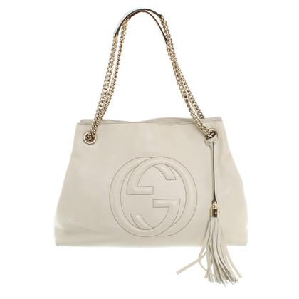 "Gucci ""Soho Shopper"" in crema"