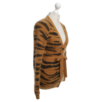 Mulberry Cardigan con stampa animalier