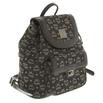 MCM Backpack with logo design