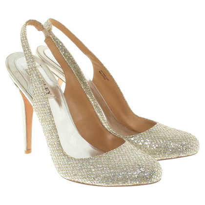 Badgley Mischka pumps with glitter