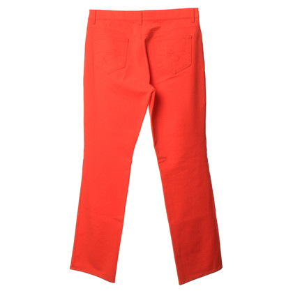Escada Pants in bright orange