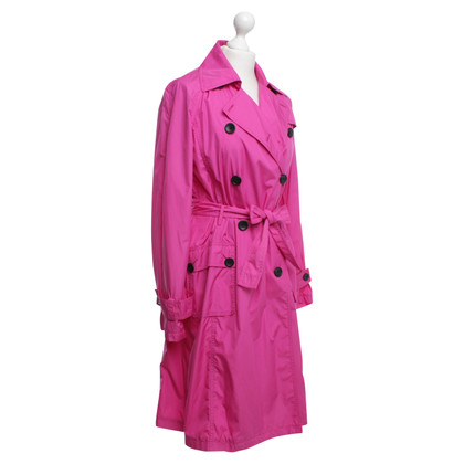 IQ Berlin Trenchcoat in Pink
