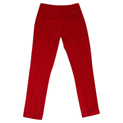 Twin-Set Simona Barbieri trousers in red