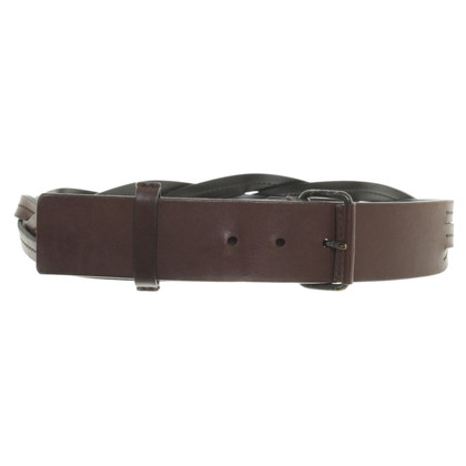 Gucci Brown leather belt
