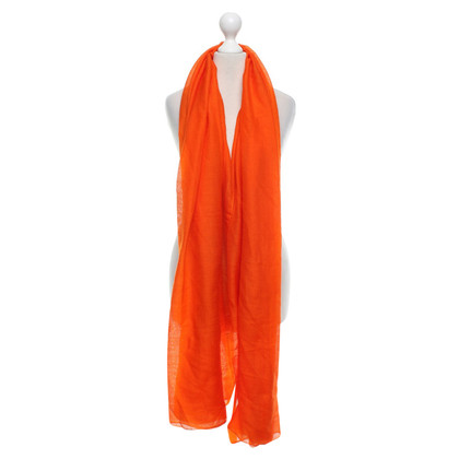 Hermès Tuch in Orange