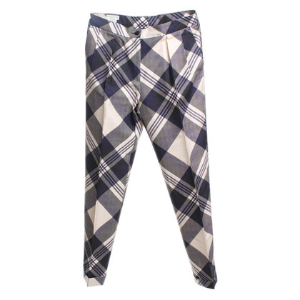 Dries van Noten trousers with check pattern
