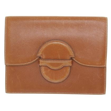 Hermès Leather document bag