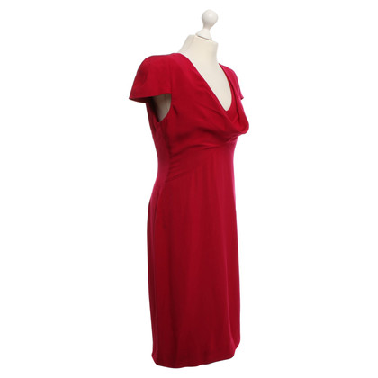 Alexander McQueen Dress in ruby ​​red