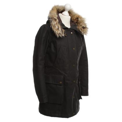Belstaff Parka con cappuccio di pelliccia