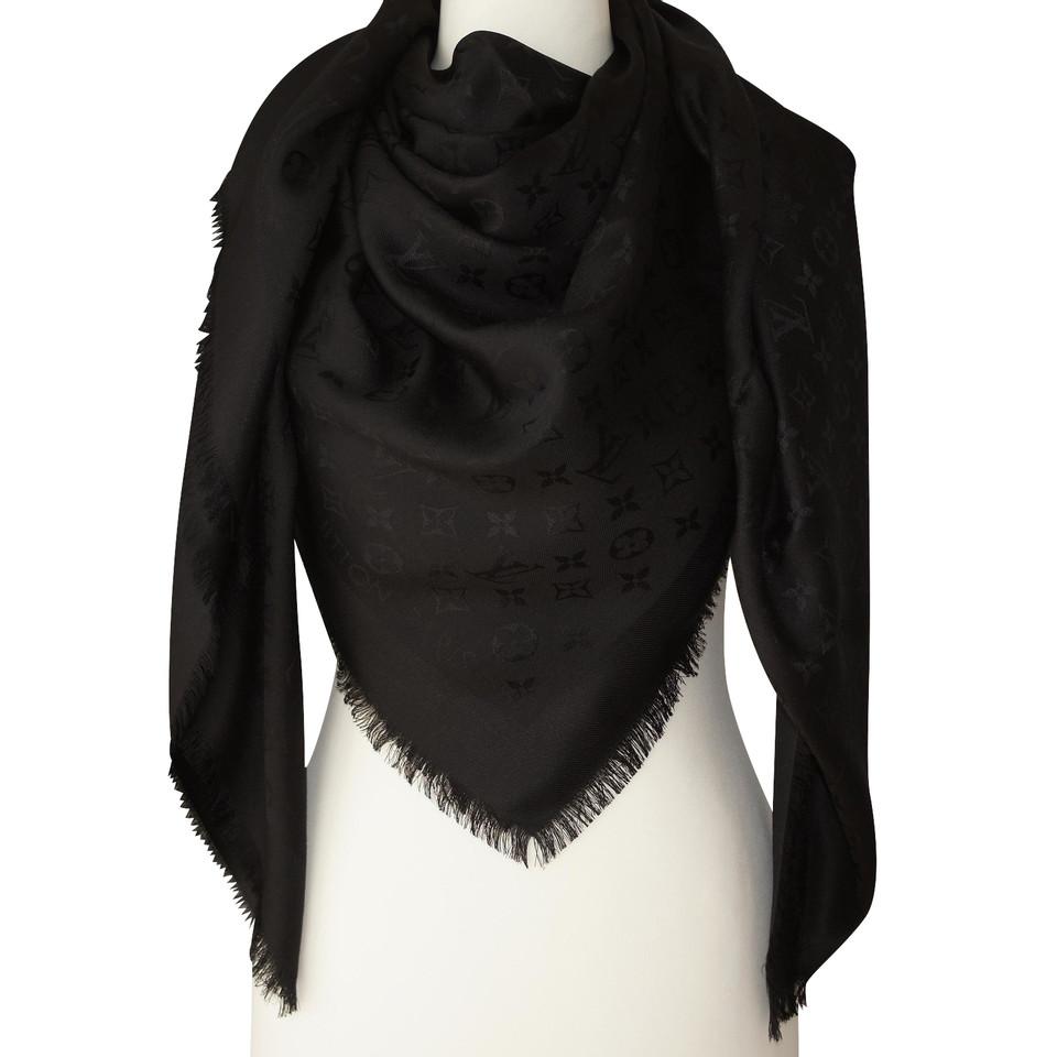 louis vuitton louis vuitton monogram scarf buy second. Black Bedroom Furniture Sets. Home Design Ideas
