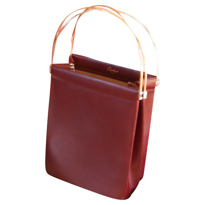 "Cartier ""Trinity Bag"" in Bordeaux"