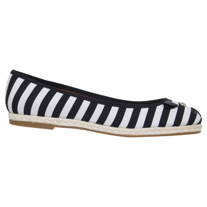 Marc by Marc Jacobs Striped ballerinas