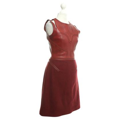 Andere Marke Marios Schwab - Kleid mit Leder