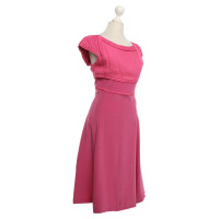 Loewe Silk Dress in Pink / Purple