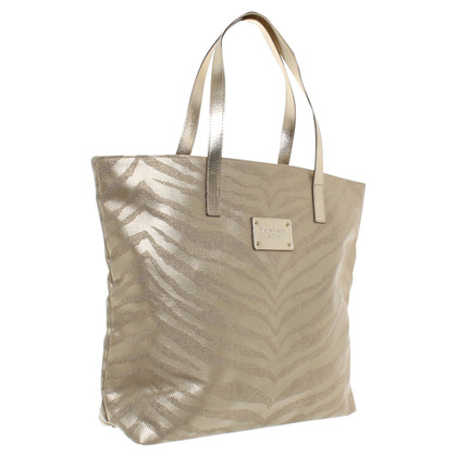 Michael Kors Goldfarbener Shopper