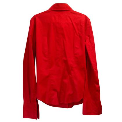 Armani Jeans Rote Bluse