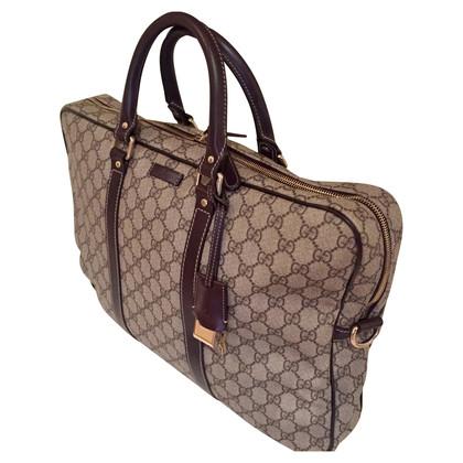Gucci GG Supreme canvas travel bag